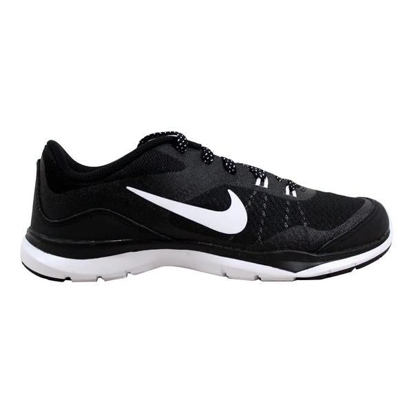 45d60c351fed2 Shop Nike Flex Trainer 5 Black White-Anthracite Women s 724858-001 ...