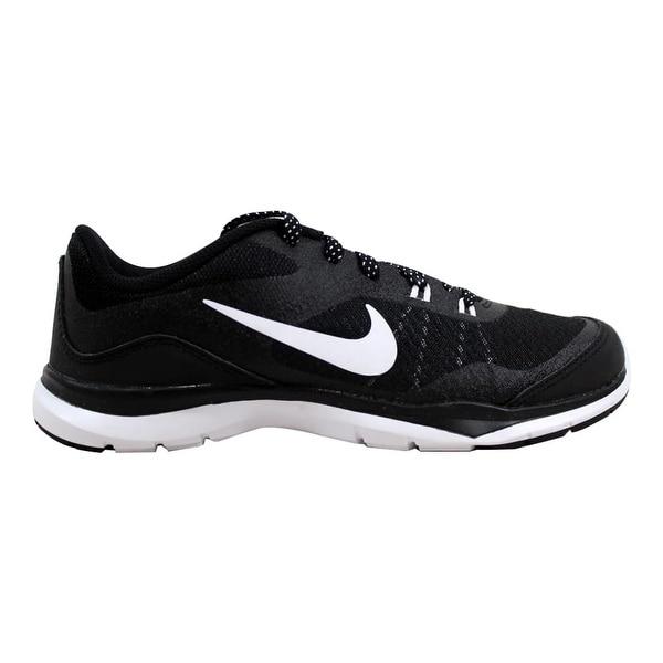 540993f19f71 Shop Nike Flex Trainer 5 Black White-Anthracite Women s 724858-001 ...