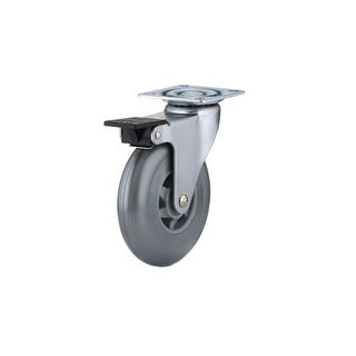 Richelieu 91016020502 130 lb. Maximum Weight Capacity Swivel Mount Caster with Brake