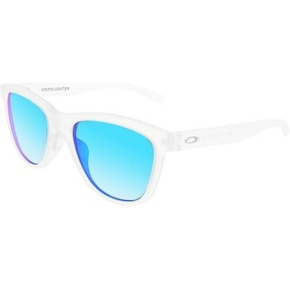 Oakley Women's Moonlighter OO9320-03 White Square Sunglasses