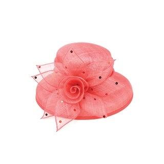 ChicHeadwear Womens Wide Brim Sinamay Fashion Hat - One size