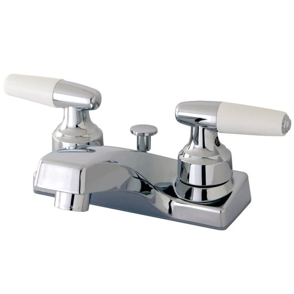 Kingston Brass FB20 Americana 1.2 GPM Centerset Bathroom Faucet with Pop-Up Drain Assembly - Polished Chrome