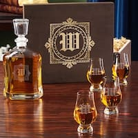 Winchester Personalized Whiskey Decanter Set With Gift Box