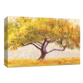 """PTM Images 9-153661  PTM Canvas Collection 8"""" x 10"""" - """"Apricot Tree Crop"""" Giclee Trees Art Print on Canvas"""
