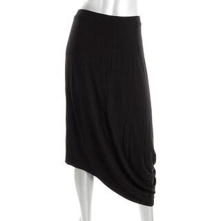 Pure DKNY Womens Hi-Low Knee-Length Maxi Skirt - L