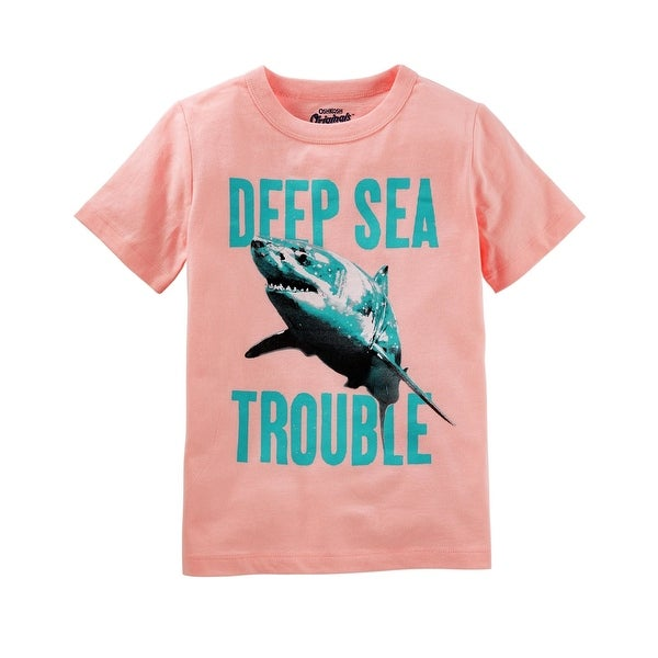 1a45913c Shop OshKosh B'gosh Little Boys' Graphic Tee, Shark graphic, 4-5 Kids -  Free Shipping On Orders Over $45 - Overstock - 25722625