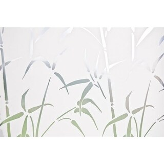 Brewster Home Fashions Bamboo Static Privacy Window Film- Door Size