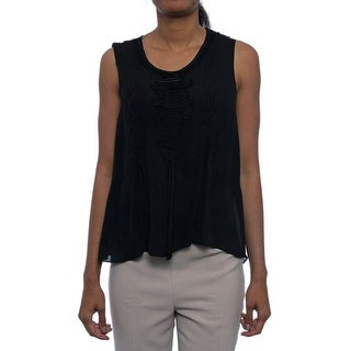 Elie Tahari Chandel Sleeveless Blouse Women Regular Blouse