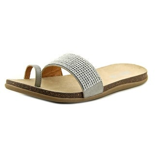 Kenneth Cole Reaction Slim N Trim Women Open Toe Synthetic Gray Sandals