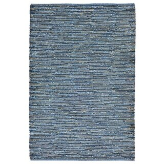 TransOceanImports Sahara Plains Blue Rugs 7 ft. 6 in. x 9 ft. 6 in.