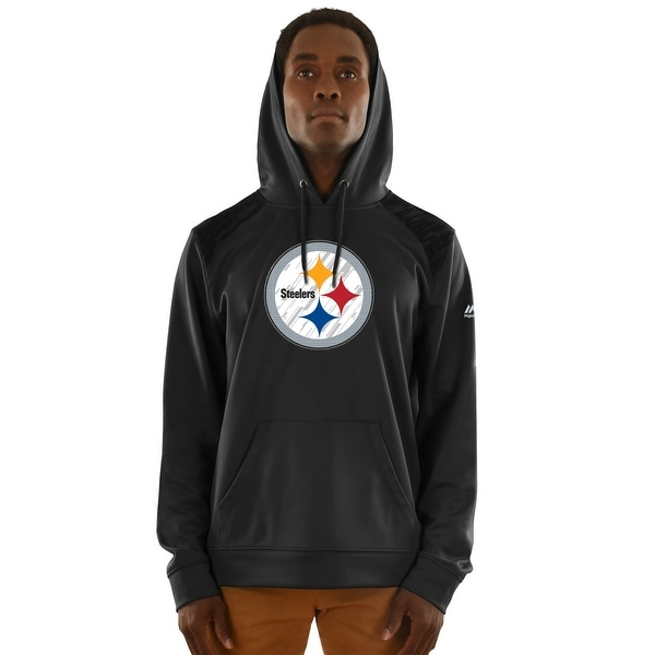 b7e37e0bf Shop Pittsburgh Steelers Armor Pullover Hoodie - Free Shipping Today ...