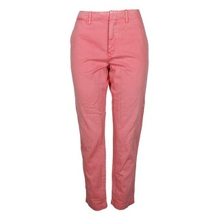 Shop Polo Ralph Lauren Rose Chino Boyfriend Pants - 12 - Free Shipping On  Orders Over  45 - Overstock.com - 24197061 18efe9863f3