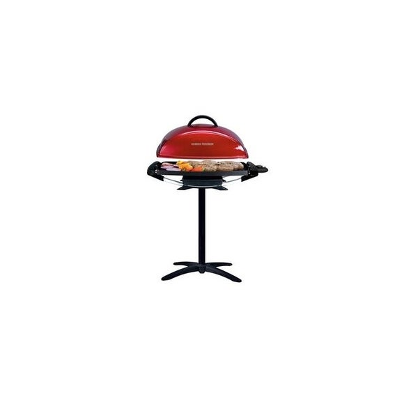 Spectrum Gfo201r George Foreman Indoor Outdoor Electric Grill - Red