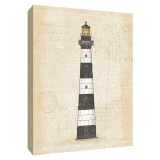 """PTM Images 9-154780  PTM Canvas Collection 10"""" x 8"""" - """"Coastal Light II"""" Giclee Lighthouses Art Print on Canvas"""
