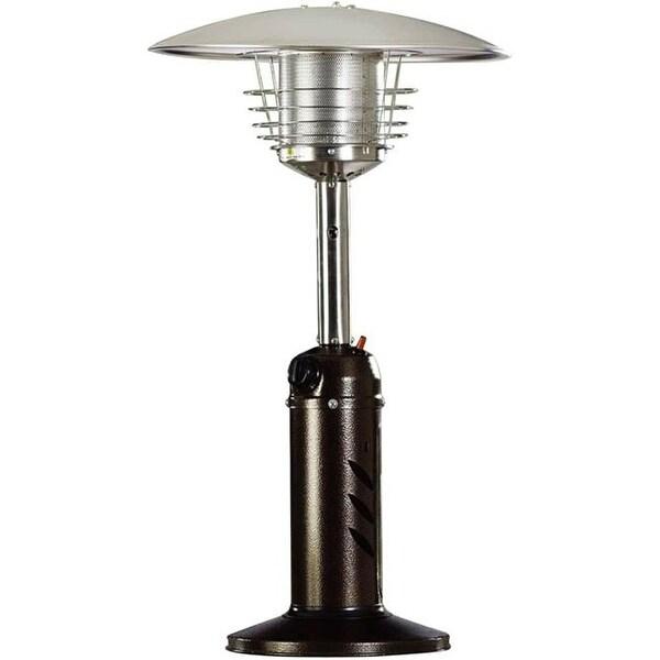 Superbe Hanover Mini Umbrella Propane Table Top Patio Heater With Regulator
