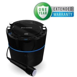 Electrohome Karaoke CD+G Player Speaker System with 2 Microphone Inputs & Bonus 1 Year Warranty