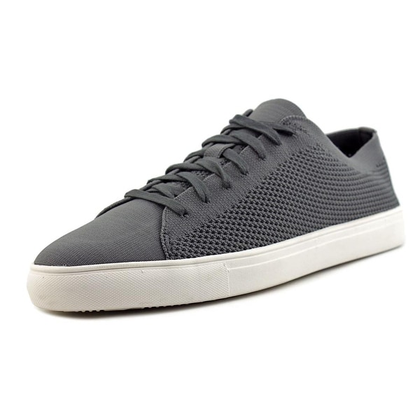 Kenneth Cole Reaction On The Road Men Round Toe Canvas Gray Sneakers