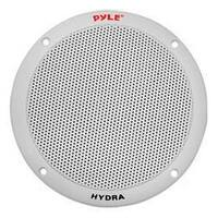 "Pyle 6.5"" 2-Way Dual Cone Marine Speakers White 400W Max"