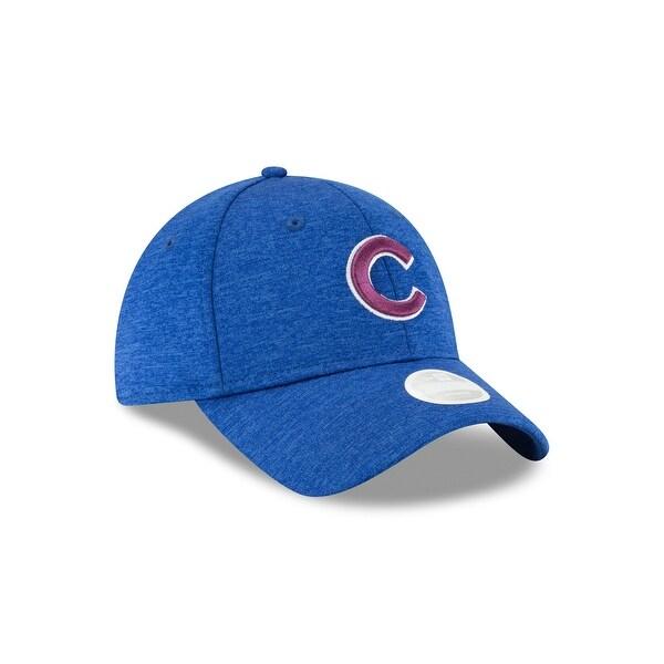 Chicago Cubs 9TWENTY Shadow Twist Women's Adjustable Hat. Opens flyout.
