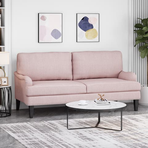 Auriga Contemporary Fabric Loveseat by Christopher Knight Home