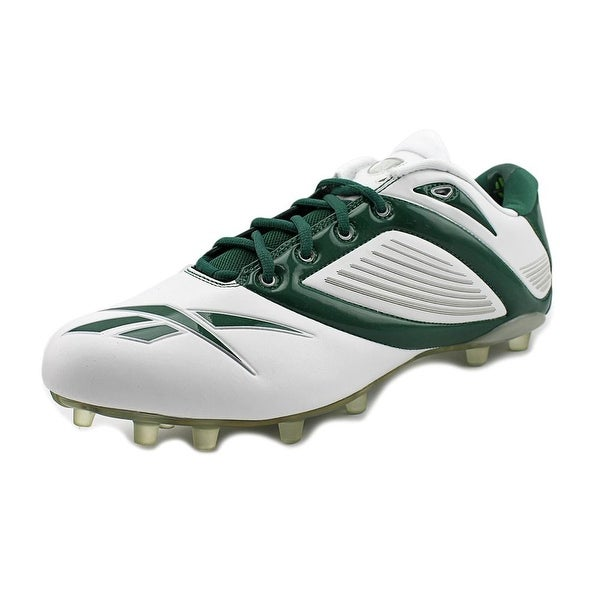 Reebok Pro All Out Speed Low M2 Men White/Green Cleats