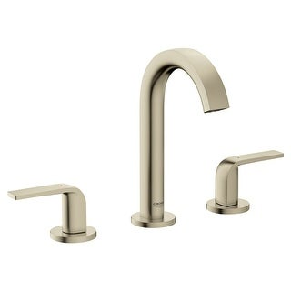 Grohe 20 597  Defined 1.2 GPM Widespread Bathroom Faucet with Pop-Up Drain Assembly, SilkMove and EcoJoy Technologies