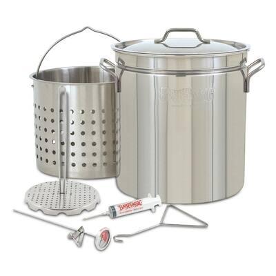 Bayou Classic® 44-Qt Stainless Grand Gobbler Turkey Fryer Set