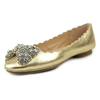 Dune London Harra Women Round Toe Leather Flats