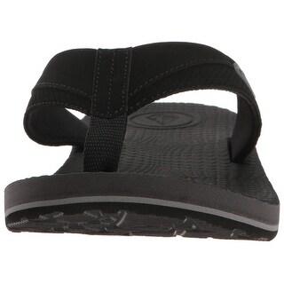 Volcom Men's Lounger Memory Foam Flip Flop Sandal - 6