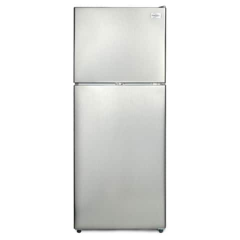 """Conserv 24"""" Wide 10 cu.ft.Top Freezer Refrigerator Stainless"""