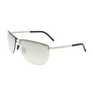 Porsche P8577-A Light Gold Aviator Sunglasses - 68-12-135