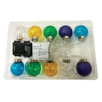 Celebrations 52272-71 LED Round Micro Light Set, Multicolored, 10 lights