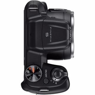 Fujifilm S8600 16MP Black Digital Camera 16GB Bundle