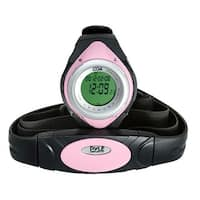 Heart Rate Monitor Watch W/Minimum, Average Heart Rate, Calorie Counter, and Target Zones(Pink Color)