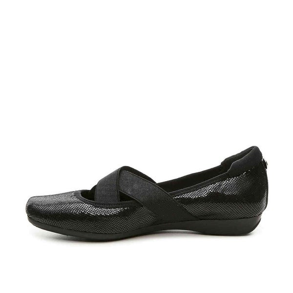 Anne Klein Womens Ultimo Closed Toe Mules, Black, Size 9.0