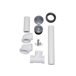"""Proflo PFWO305 1-1/2"""" PVC Tub Drain Trim/Fitting"""
