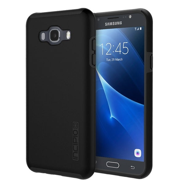 Incipio Samsung Galaxy J7 (2016) Case, [Hard Shell] [Dual Layer] DualPro-Black