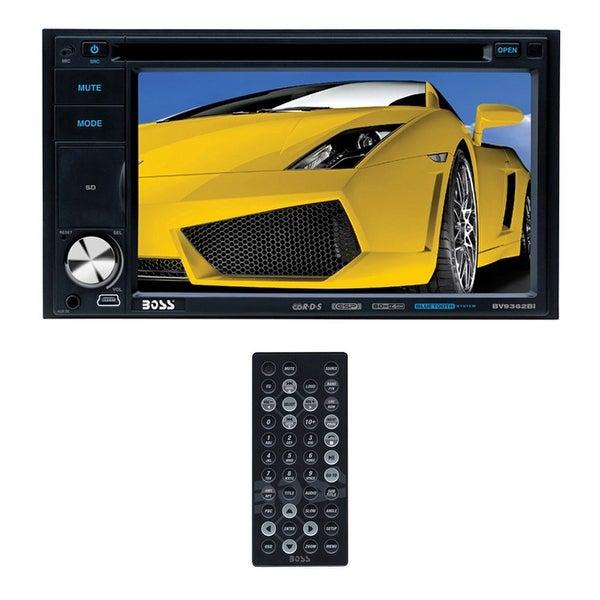 "Boss 6.2"" DDin Touchscreen Bluetooth USB/SD Remote"