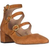 Charles Charles David Wonder Mary Jane Block Heels, Camel