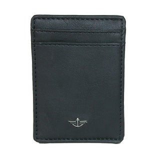 Dockers Men's RFID Front Pocket Wallet with ID Window - One size