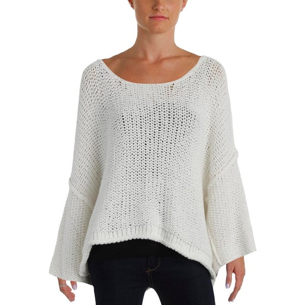 58f84113c68d8 Shop Free People Womens Pullover Sweater Knit Boatneck - Free ...