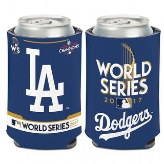 Los Angeles Dodgers National League Champs World Series Can Cooler
