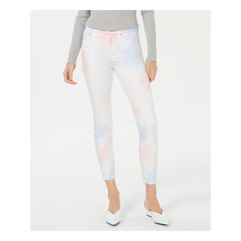 JOE'S Womens Pink Light Pink Tie Dye Jeans Size 27 Waist