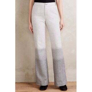 Anthropologie Ombre Flare Trousers Pants - Multi