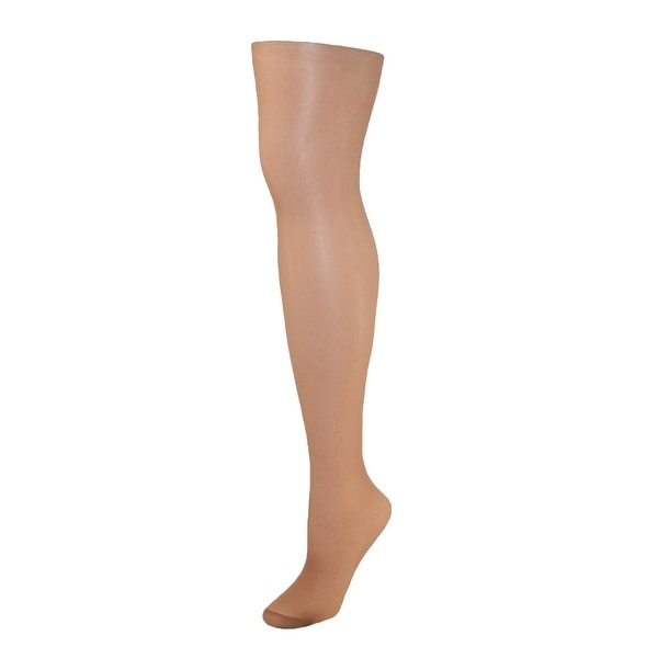 Just My Size Women's Nylon Roll Resistant Reinforced Toe Pantyhose (Pack of 2)