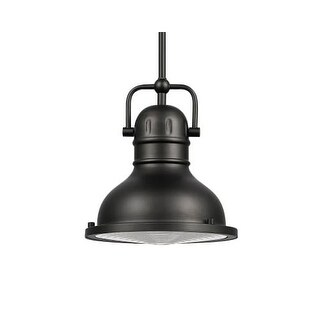 Globe Electric 65625 Single Light 9 Inch Wide Pendant with Acrylic Defuse