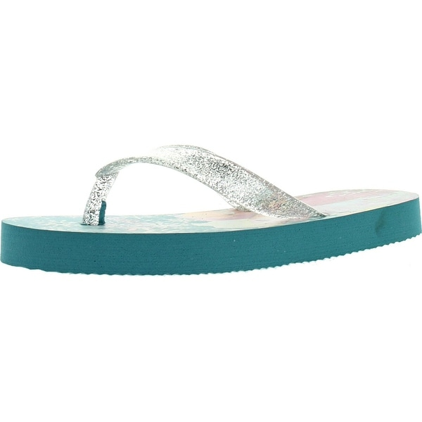 Disney Girls Frs100 Frozen Flip Flop Sandals - Blue