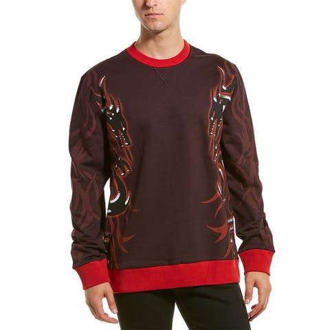 Lanvin Dragon Tribal Crewneck Sweatshirt