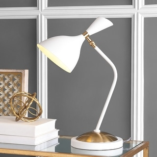 "JONATHAN  Y Albert 21.5"" Iron Retro Mid-Century LED Table Lamp"