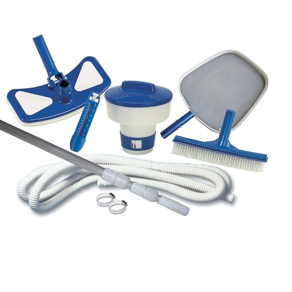 Swimming Pool Kits Direct: Shop 9-Piece Deluxe Pool Maintenance Kit For Swimming